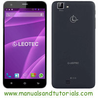 Leotec Smartphone C55 Manual And User Guide PDF
