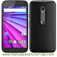 Motorola Moto G3 Manual And User Guide PDF