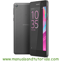 Sony Xperia E5 Manual And User Guide PDF