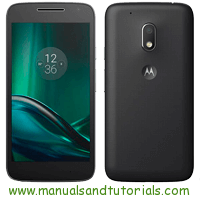 Motorola Moto G4 Play Manual And User Guide PDF