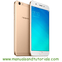 Download Oppo F1s user manual PDF
