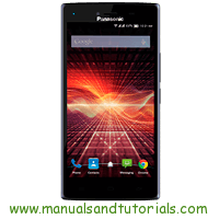 Panasonic Eluga Turbo Manual And User Guide PDF