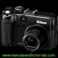 Nikon Coolpix P6000 Manual And User Guide PDF