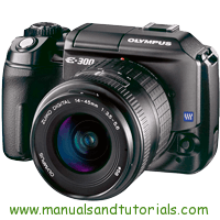 Olympus E-300 Manual And User Guide PDF