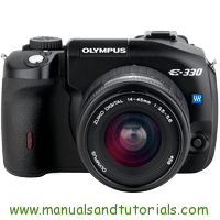 Olympus E-330 Manual And User Guide PDF