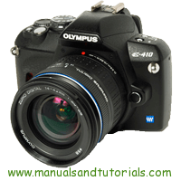 Olympus E-410 Manual And User Guide PDF