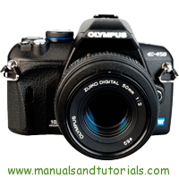 Olympus E-450 Manual And User Guide PDF