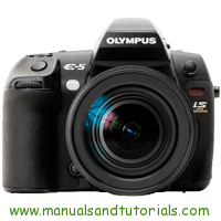 Olympus E-5 Manual And User Guide PDF