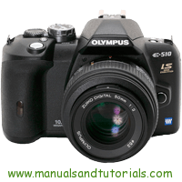 Olympus E-510 Manual And User Guide PDF