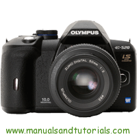 Olympus E-520 Manual And User Guide PDF