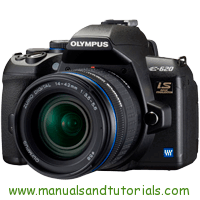 Olympus E-620 Manual And User Guide PDF