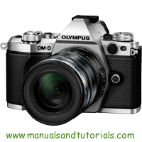 Olympus E-M5 Mark II Manual And User Guide PDF