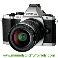 Olympus E-M5 Manual And User Guide PDF