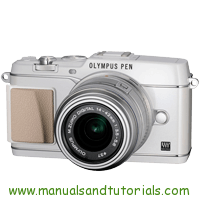 Olympus E-P5 Manual And User Guide PDF
