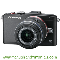 Olympus E-PL6 Manual And User Guide PDF