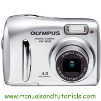 Olympus FE-100 Manual And User Guide PDF