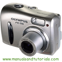 Olympus FE-115 Manual And User Guide PDF
