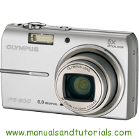 Olympus FE-200 Manual And User Guide PDF