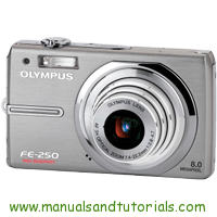 Olympus FE-250 Manual And User Guide PDF