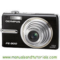 Olympus FE-300 Manual And User Guide PDF