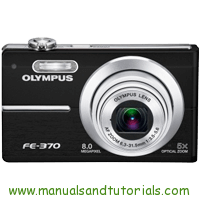Olympus FE-370 Manual And User Guide PDF