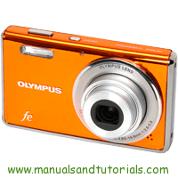 Olympus FE-4000 Manual And User Guide PDF