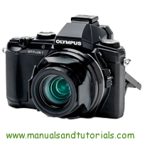 Olympus Stylus 1 Manual And User Guide PDF