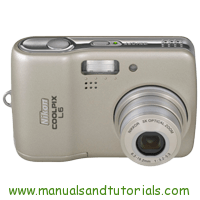 Nikon Coolpix L6 Manual And User Guide PDF