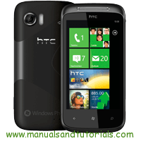 HTC 7 Mozart Manual And User Guide PDF