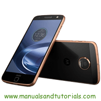 Motorola Moto Z Play Manual And User Guide PDF
