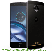 Motorola Moto Z Droid Manual And User Guide PDF