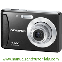 Olympus T-100 Manual And User Guide PDF
