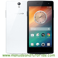 Oppo Find 5 mini Manual And User Guide PDF