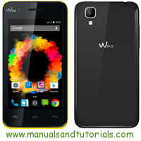 Wiko SUNSET Manual And User Guide PDF