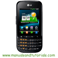 LG Optimus pro Manual And User Guide PDF