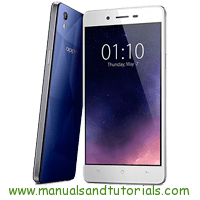 Oppo Mirror 5s Manual And User Guide PDF