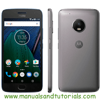 Motorola G5 Plus Manual And User Guide PDF