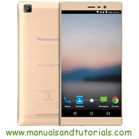 Panasonic Eluga A2 Manual And User Guide PDF