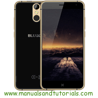 Bluboo X9 Manual And User Guide PDF