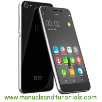 Elephone S1 Manual And User Guide PDF