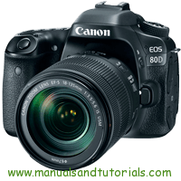 Canon EOS 80D Manual And User Guide PDF