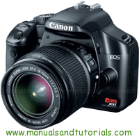 Canon EOS REBEL XSi Manual And User Guide PDF