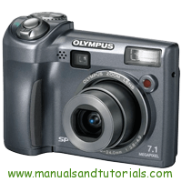 Olympus SP-320 Manual And User Guide PDF