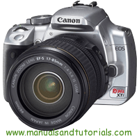 Canon EOS REBEL Xti Manual And User Guide PDF