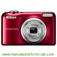 Nikon Coolpix A10 Manual And User Guide PDF