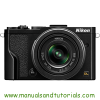 Nikon DL24-85 Manual And User Guide PDF