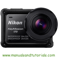 Nikon Keymission 170 Manual And User Guide PDF