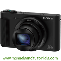 Sony DSC-HX80 Manual And User Guide PDF
