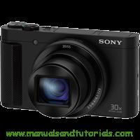 Sony DSC-HX80 Manual And User Guide PDF