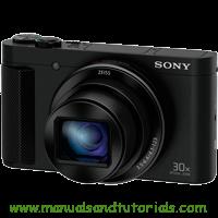 Sony DSC-HX90 Manual And User Guide PDF